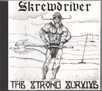 Skrewdriver - The Strong Survive - Click Image to Close